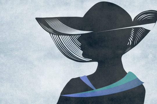 hat-lady-beautiful-silhouette