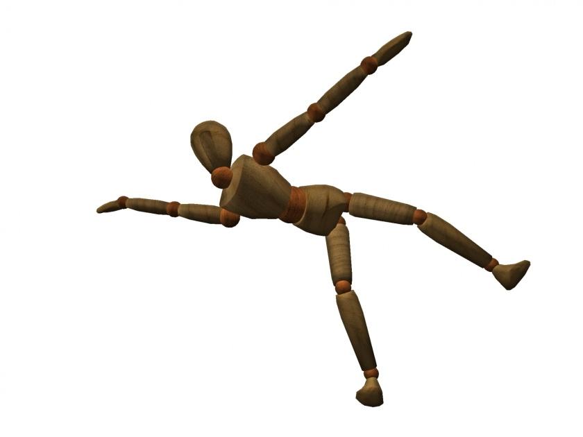 balance stickperson