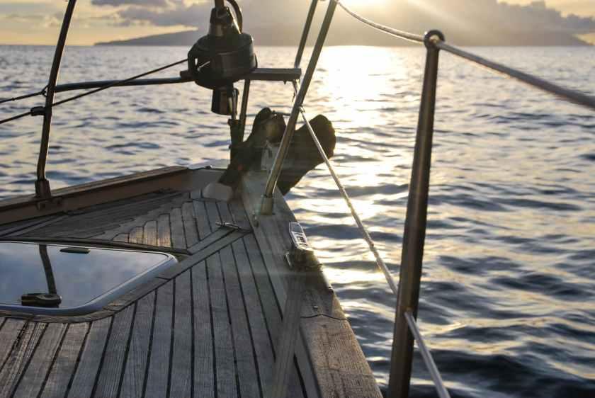 boat deck leisure ocean