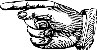 finger to left