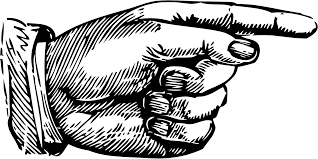 finger to right